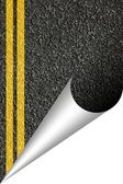 Asphalt texture with copyspace — Stock Photo