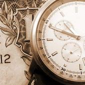 Financial time concept — Stock Photo