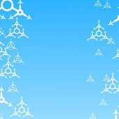 Xmas of winter wallpaper — Stockfoto