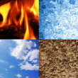 Постер, плакат: The four elements