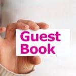 Постер, плакат: Guest book