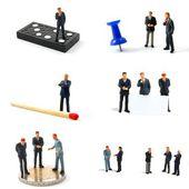 Business man samling — Stockfoto