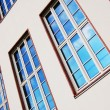facade of apartment house — Stock Photo