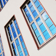 Stock Photo: Facade of apartment house