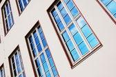 集合住宅のファサード — ストック写真