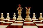 Conflitto di scacchi — Foto Stock