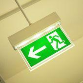 Emergency exit — Stock Photo