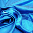 Blue satin background - Zdjęcie stockowe