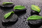 Zen stone wellness concept — Stock Photo