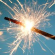 Stock Photo: Abstract sparkler background