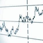 Stock chart — Stock Photo #3354813