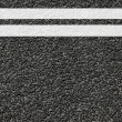 Road texture with lines — Stock Photo