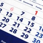 Calendar — Stock Photo #3371357