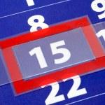 Calendar — Stock Photo #3371441