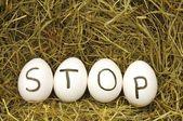 Stop — Zdjęcie stockowe