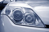 Headlight of a car — Stock Photo