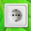 Постер, плакат: Ecological power outlet