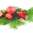 Xmas or christmas still life — Stock Photo