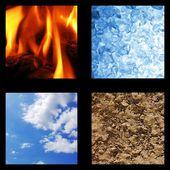 Basic elements of nature — Stock Photo