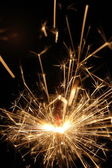 Sparkler on holiday — Stockfoto