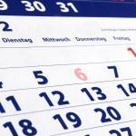 Calendar — Stock Photo #3482328