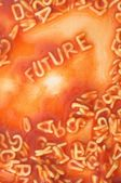 Future forecast — Stock Photo