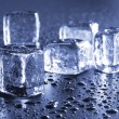 Cool ice cubes — Foto Stock