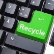 Royalty-Free Stock Photo: Recycle button