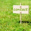 Contact - Stockfoto