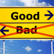 Good and bad — Stock Photo #3565007