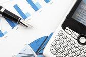 Business data — Stock Photo