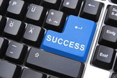 Success button — Stock Photo