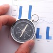 Business compass — Stock Photo #3634602