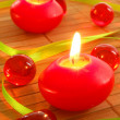 Romantic candle light — Stockfoto