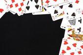Card game frame — Stock Photo