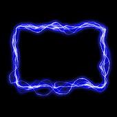 霓虹灯框架 — 图库照片