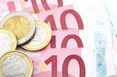 Dinero euro — Foto de Stock