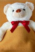Krank Teddybär — Stockfoto