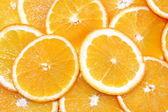 Orange fruit background — Foto Stock