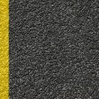 Road texture with lines - Stock Photo