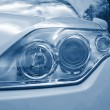 Royalty-Free Stock Photo: Headlight of a car