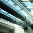 Stock Photo: Ventilation pipes