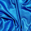 Blue satin background — Photo