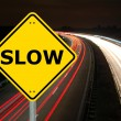 Stock Photo: Slow