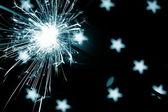 Holiday sparkler — Foto de Stock