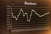 Business chart — Stock Photo