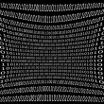Computer data background — Stock Photo