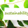Sustainability — Stock fotografie #3702828
