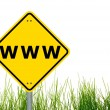 Www or internet concept — Stockfoto