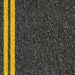 Road texture with lines — Stock Photo #3753584